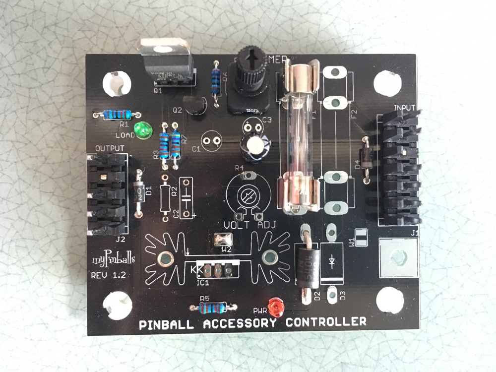 Pinball Accessory Controller (PAC) Board